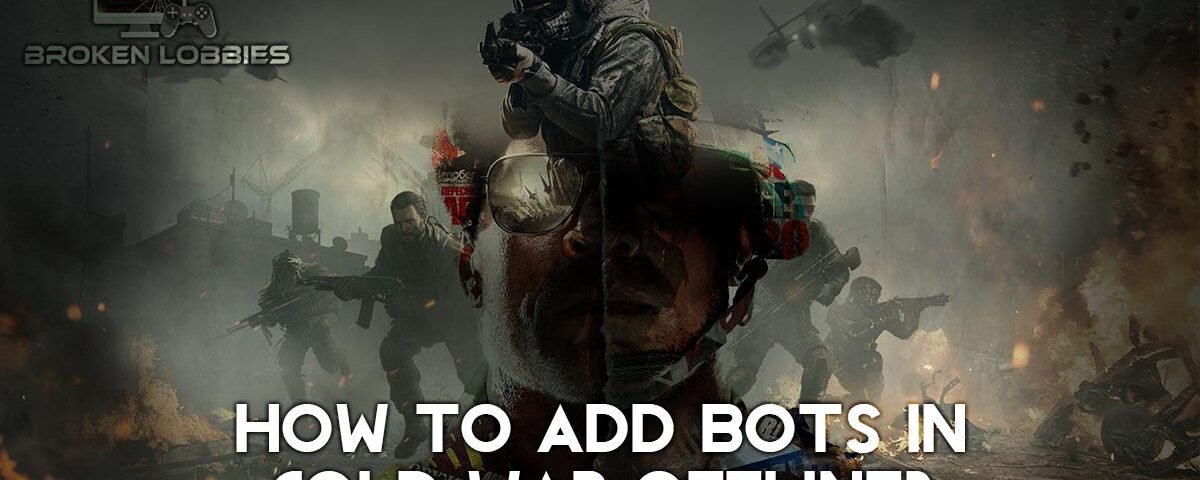 How to Add Bots in Cold War Offline